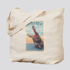 Alligator Invitation Tote Bag