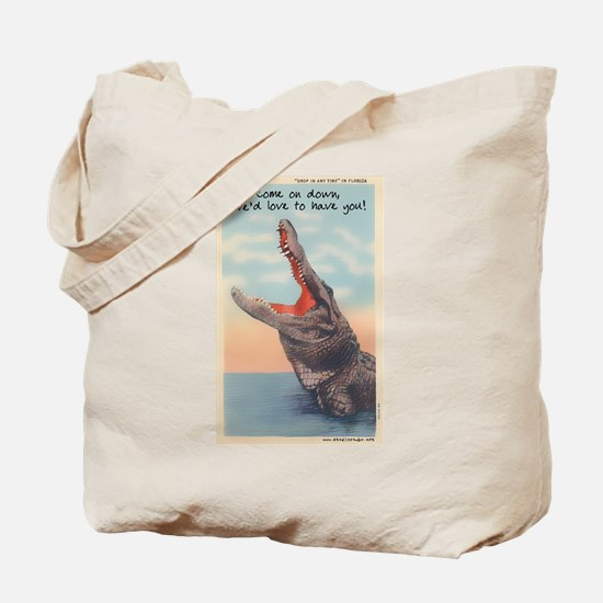 Alligator Invitation Tote Bag