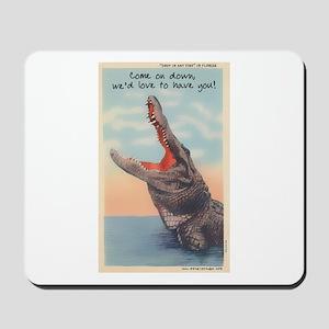 Alligator Invitation Mousepad