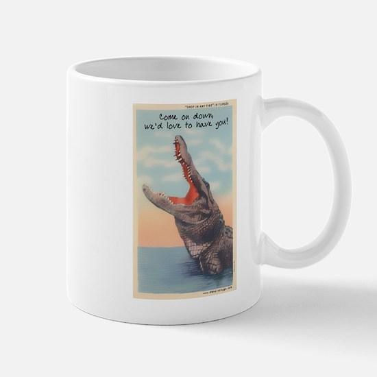 Alligator Invitation Mug