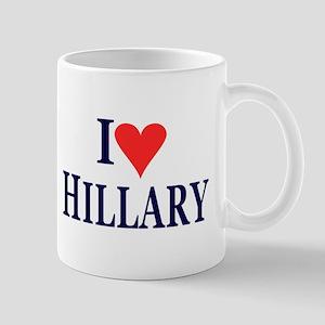 I Love Hillary Mugs