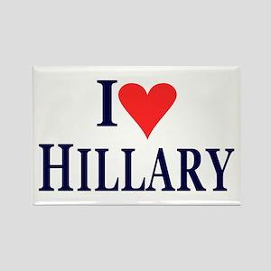 I Love Hillary Magnets