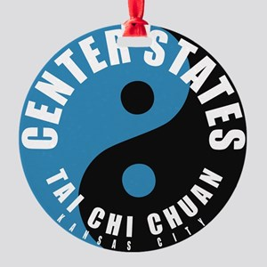 Center States Circle Round Ornament