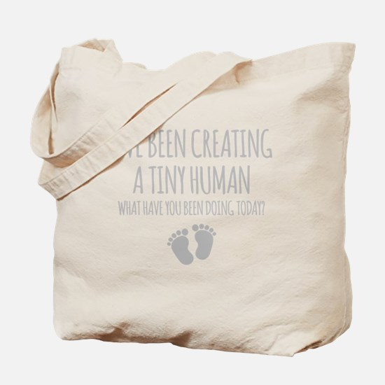 Ive Been Creating A Tiny Human Tote Bag
