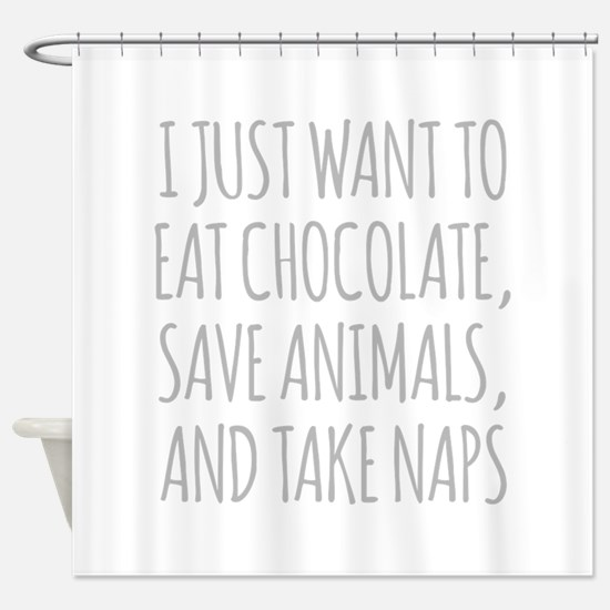 I Just Want To Eat Chocolate, Save Animals And Tak