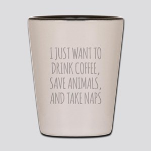 I Just Want To Drink Coffee, Save Animals And Take