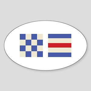 Distress Flags Sticker