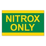 NITROX Tank Sticker