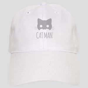 Cat Man Baseball Cap