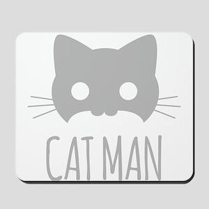 Cat Man Mousepad