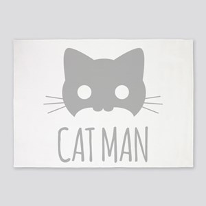 Cat Man 5'x7'Area Rug