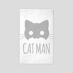 Cat Man Area Rug