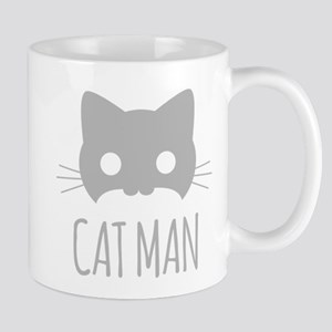 Cat Man Mugs