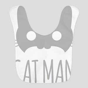 Cat Man Bib