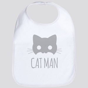 Cat Man Bib