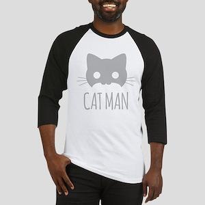 Cat Man Baseball Jersey