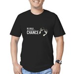 Give babies a chance Men's Fitted T-Shirt (dark)