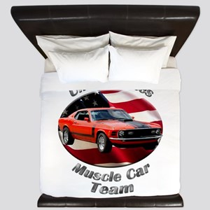 Ford Mustang Boss 351 King Duvet