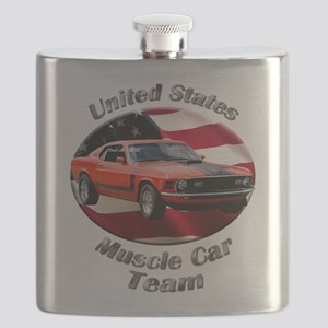 Ford Mustang Boss 351 Flask