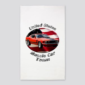 Ford Mustang Boss 351 Area Rug
