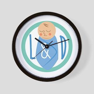 Labor & Delivery Wall Clock