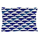 Bowhead Whale Pattern Pillow Case