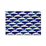 Bowhead Whale Pattern Magnets