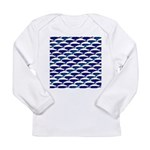Bowhead Whale Pattern Long Sleeve T-Shirt