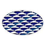 Bowhead Whale Pattern Sticker