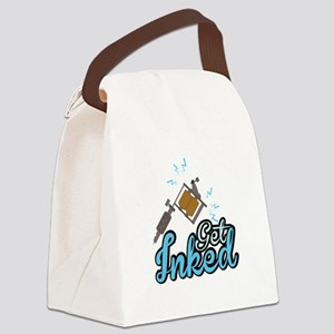 Get Inked Canvas Lunch Bag