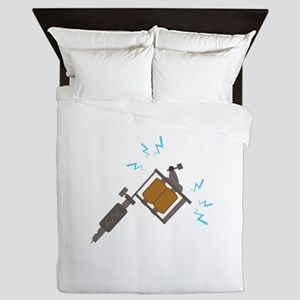 Tattoo Machine Queen Duvet