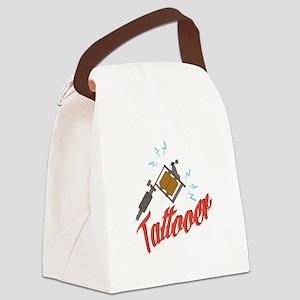 Tattooer Canvas Lunch Bag