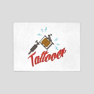 Tattooer 5'x7'Area Rug