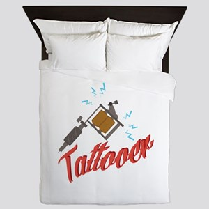 Tattooer Queen Duvet