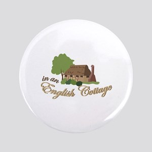 An English Cottage Button