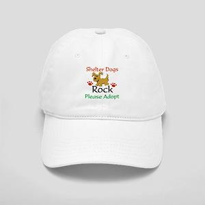 Shelter Dogs Rock Please Adopt Baseball Cap