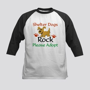 Shelter Dogs Rock Please Adopt Baseball Jersey