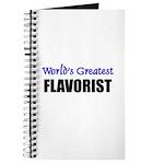 Worlds Greatest FLAVORIST Journal