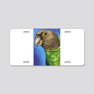 Senegal Parrot Aluminum License Plate