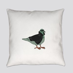 Cool Pigeon Everyday Pillow