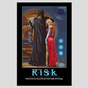 Risk poster motivational