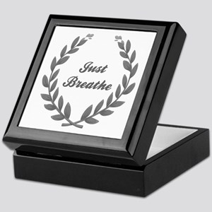 JUST BREATHE Keepsake Box