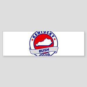 Kentucky Jeb Bush 2016 Bumper Sticker