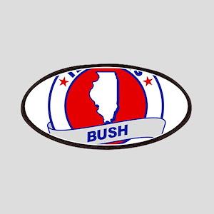 Illinois Jeb Bush 2016 Patch