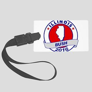 Illinois Jeb Bush 2016 Luggage Tag