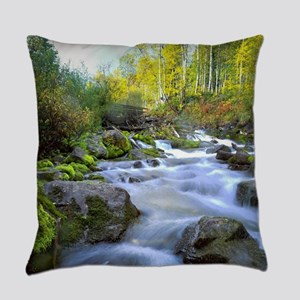Aspen Waterfall Everyday Pillow