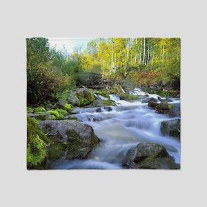 Aspen Waterfall Throw Blanket
