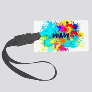 MIAMI BURST Large Luggage Tag