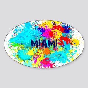 MIAMI BURST Sticker
