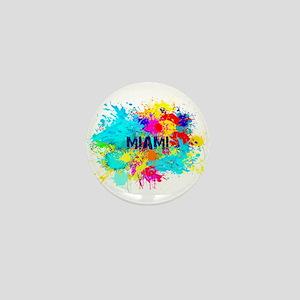MIAMI BURST Mini Button